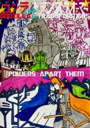 Godzilla and Transformers Poster
