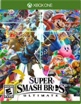 Super Smash Bros. Ultimate (Xbox One Port) Artwork.png
