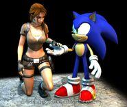 Sonic and lara croft 2 by irishhips d4xmz8m-fullview