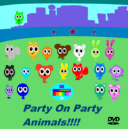 Go Blast Zoomers Party On Party Animals