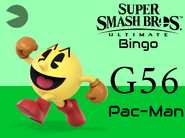 Pac-Man SSBU Bingo