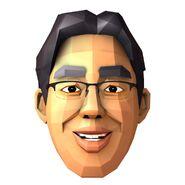 Dr. Kawashima (3DS Artwork)