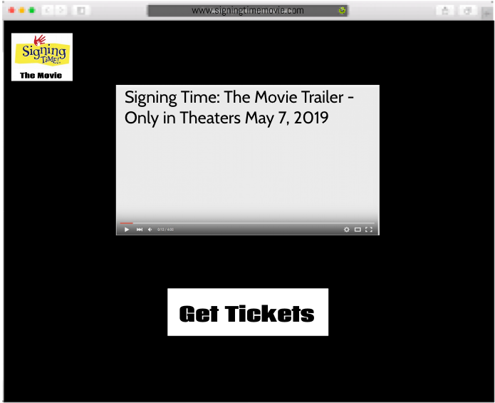 Signing Time: The Movie/Website