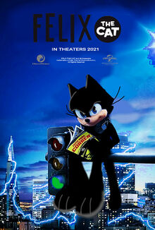 Felix the Cat (2021 Film) U.S. Theatrical Poster