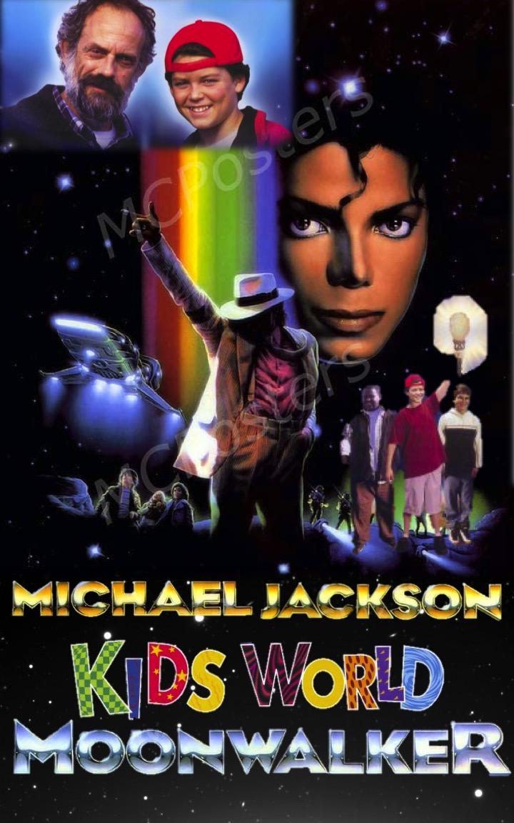 Micheal Jackson Kids World Moonwalker
