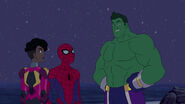 Spider-Man - 3x02 - Amazing Friends - Ironheart, Spider-Man and Totally Awesome Hulk
