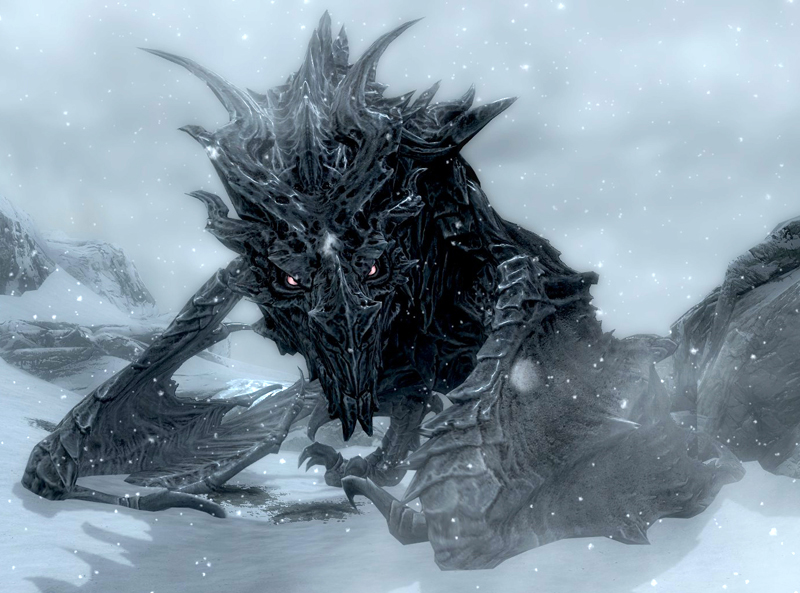 Alduin (How to Train Your Dragon My Version)