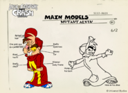 Mutant Alvin Concept Art