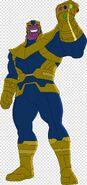 Thanos-cartoon-black-widow-ant-man-deadpool-thanos