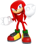 Sonic and friends knuckles the echidna