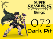 Dark Pit SSBU Bingo