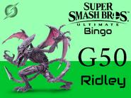 Ridley SSBU Bingo