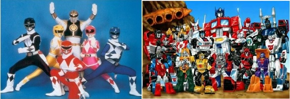 Power Rangers/Transformers crossover
