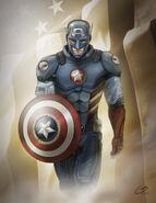 Captain America Movie Concept by tiguybou