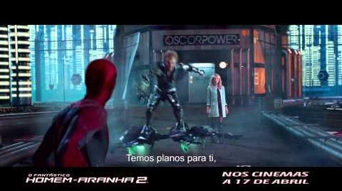"""""""O Fantástico Homem-Aranha 2"""" - TV Spot 1 (Portugal)"""