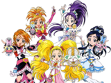 Pretty Cure Max Heart and Splash Star