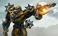 Bumblebee in transformers 4 age of extinction-wide
