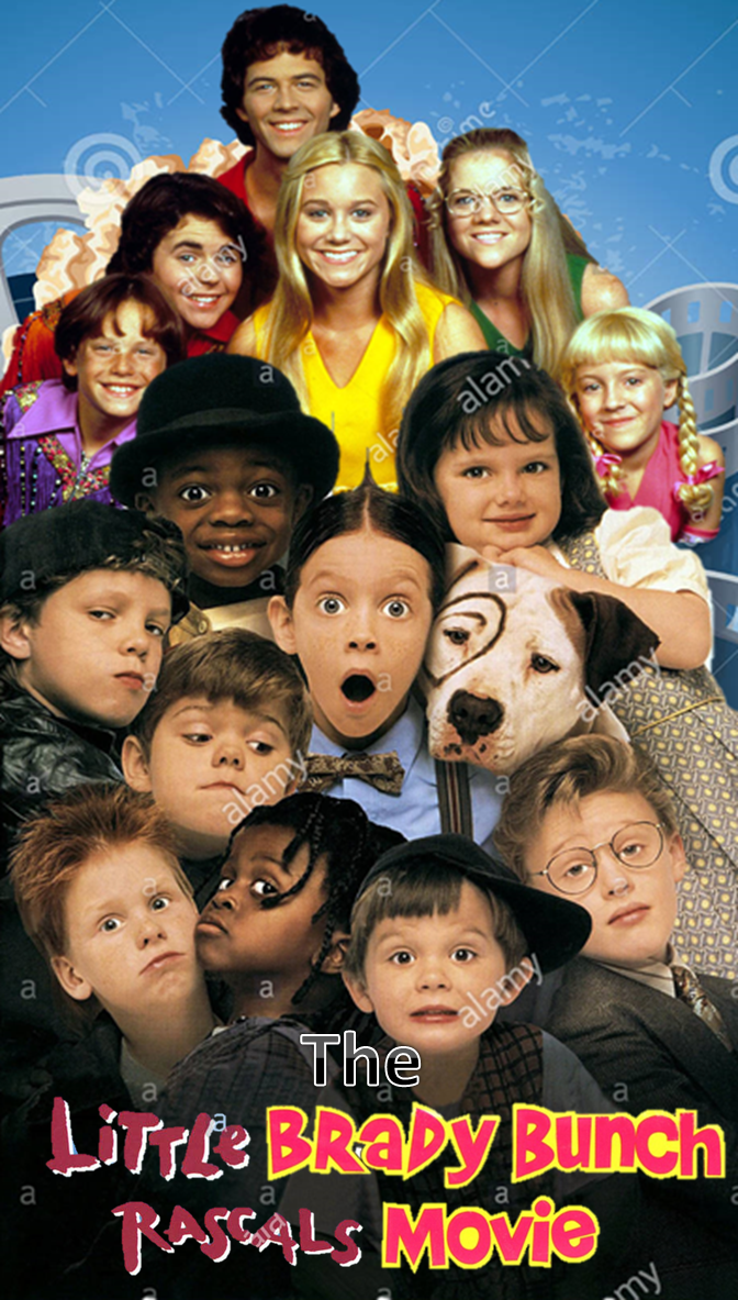 The Little Brady Bunch Rascals Movie Double Feature