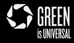 Green Is Universal White Logo.png