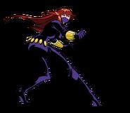 Masked Black Widow