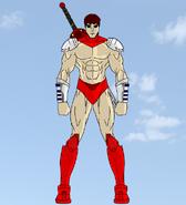 Theseus of the Skycruiser Commandos