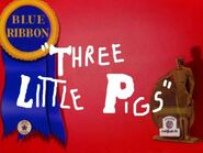 Three Little Pigs (1933) 1948 Blue Ribbon Reissue (Fanmade)