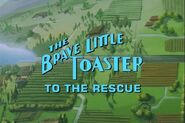 Brave little toaster to the rescue logo