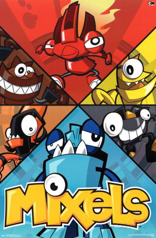 Mixels Movie: The Nixel Invasion