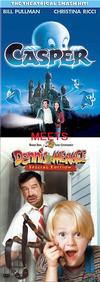Casper Meets Dennis The Menace