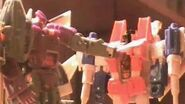Transformers G1- A Normal Battle (made in 2009)
