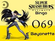Bayonetta SSBU Bingo