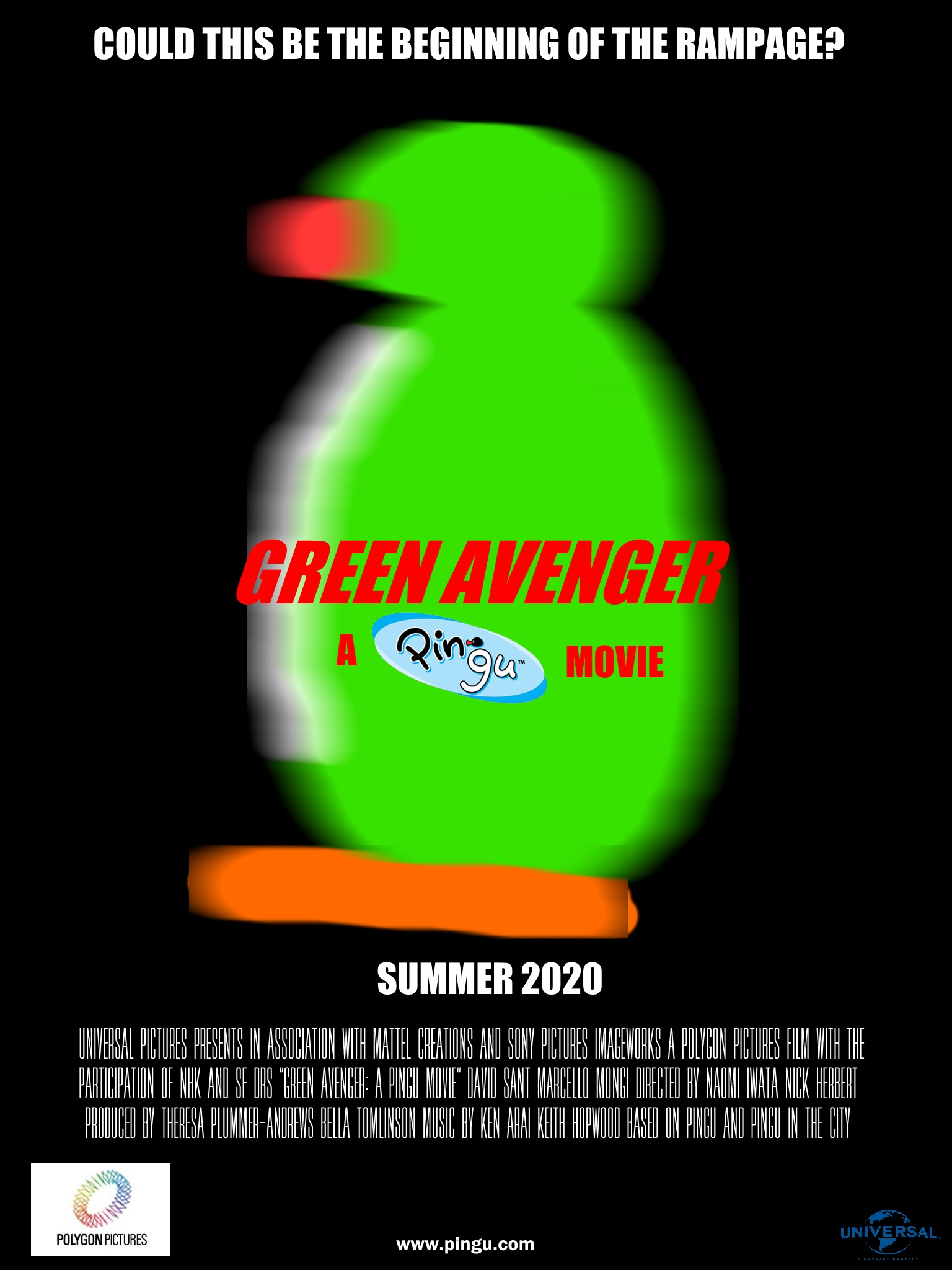 Green Avenger: A Pingu Movie