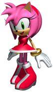 3D Amy Rose 2
