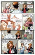 Peter Parker and Aunt May with Teresa