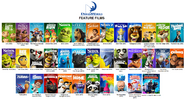 Dreamworks animation feature films 2