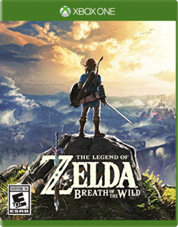 The Legend Of Zelda Breath of the Wild (Xbox One Port) Front Cover.png