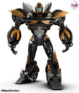 Bumblebee ( Transformers Prime Beast Hunters version )