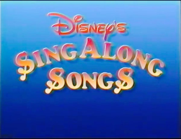 Disney Sing Along Songs remake