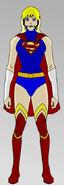 Supergirl New 52 animated
