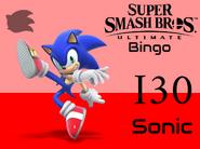 Sonic SSBU Bingo