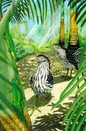 Rodrigues night heron (SciiFii)