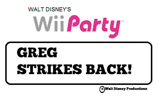 Wii Party: Greg Strikes Back