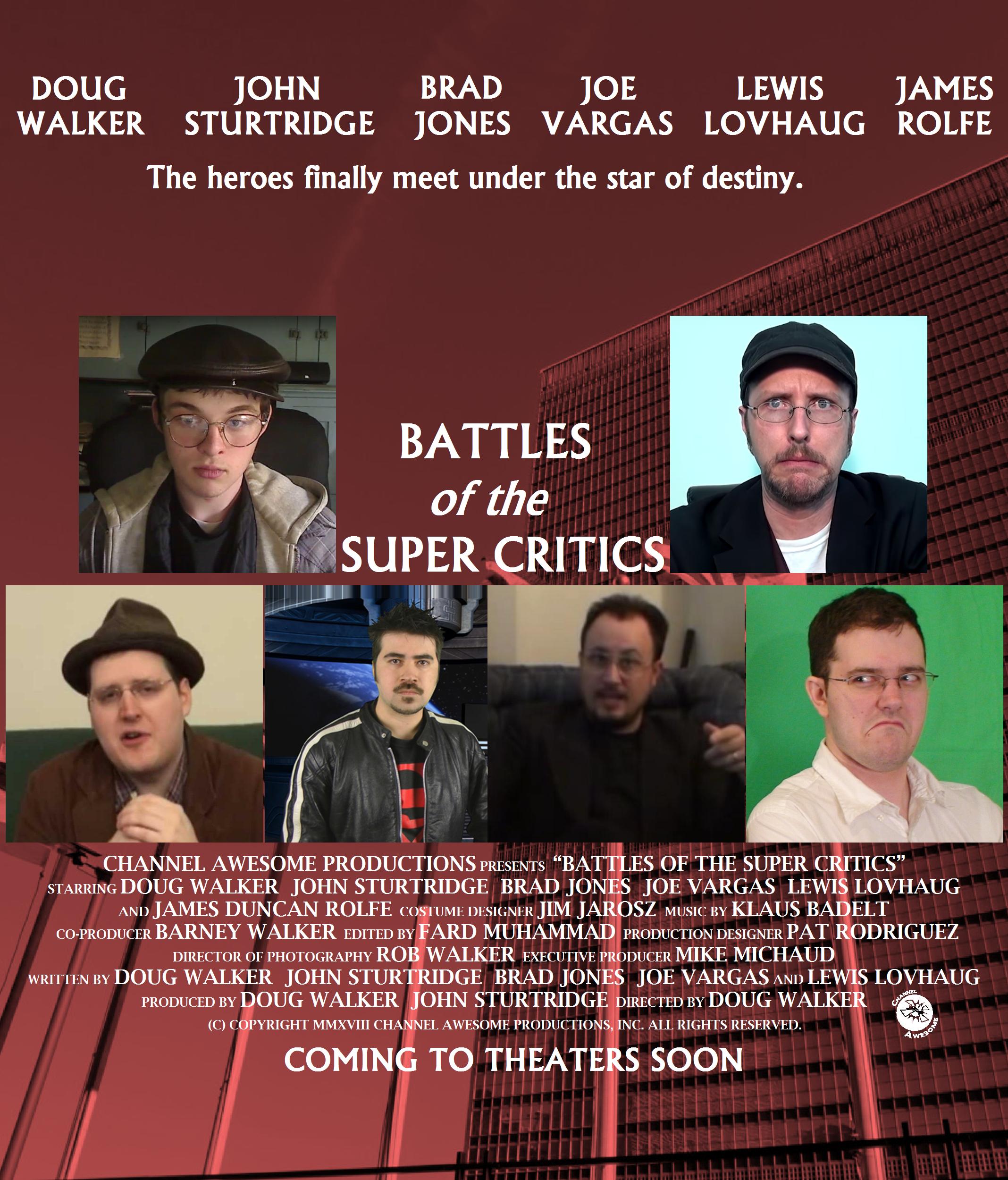 Battles of the Super Critics