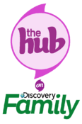 The Hub on Discovery Family Logo
