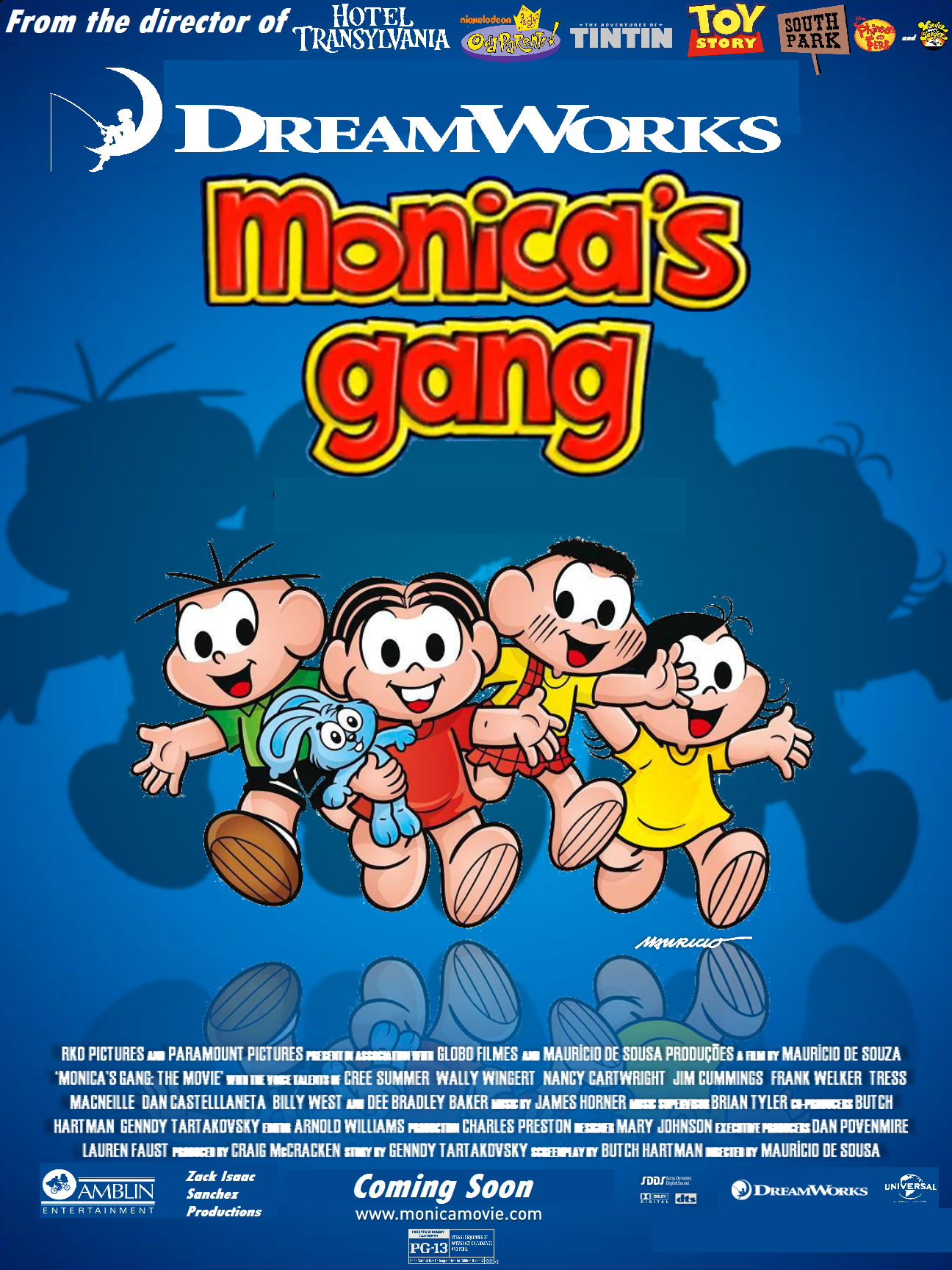 DreamWorks Monica's Gang