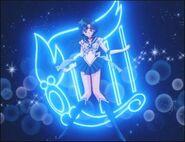 Sailor Mercury poses (background 3)