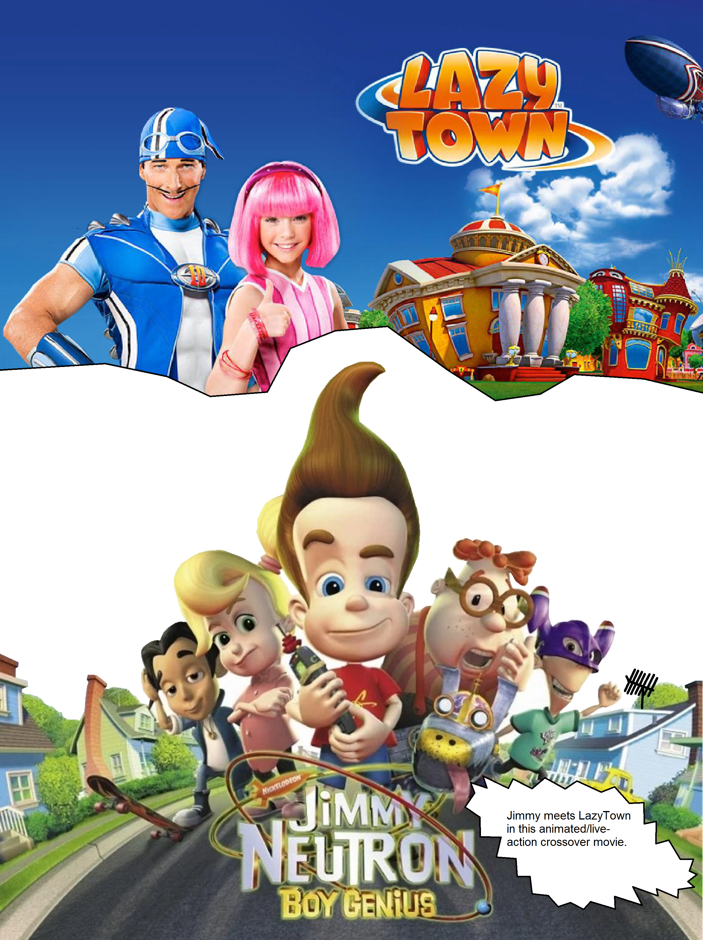 Jimmy Neutron in LazyTown
