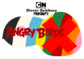 Angry Birds X Logo (w: Steven Spielberg Presents Endtag)