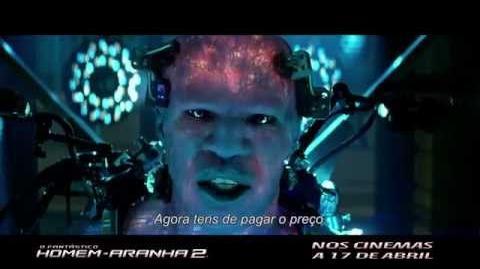 """""""O Fantástico Homem-Aranha 2"""" - TV Spot 3 (Portugal)"""