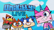 Unikitty Live logo (as presented on the intro)